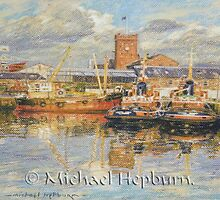 Clyde Shipping Tugs by michaelhepburn