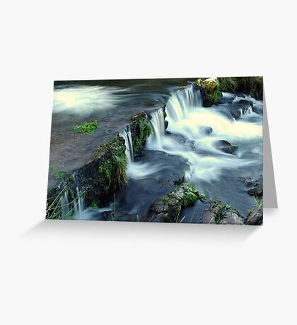 The Water Fall Greeting Card