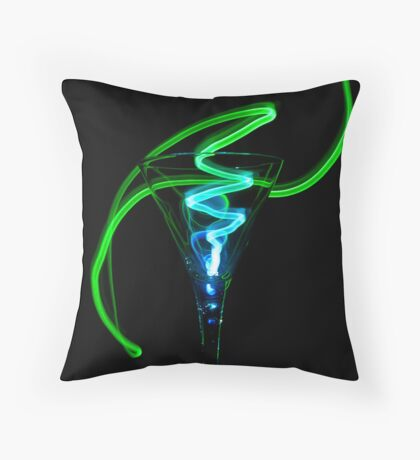 Light Cocktail Throw Pillow