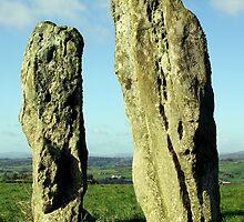 Standing Stones, Co.Kerry, Ireland by David O'Riordan