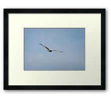 Fly my way! Framed Print