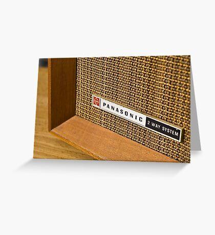 Panasonic Radio Greeting Card