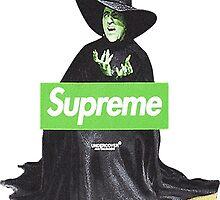 Brokeboii Preme Witch Logo Supreme by Meatballs
