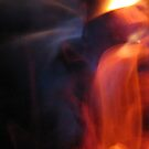 texture of the fire by delfinada