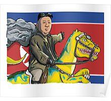 North Korea Kim Jong-Un Poster