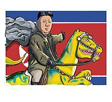 North Korea Kim Jong-Un Photographic Print