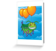 Impatient Caterpillar Greeting Card