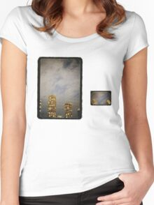 The Lonesome Crowded West Women's Fitted Scoop T-Shirt