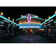 Flo's Cafe Photographic Print