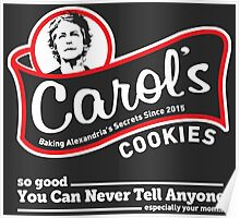 Carol's Cookies. Poster