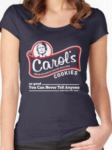 Carol's Cookies. Women's Fitted Scoop T-Shirt