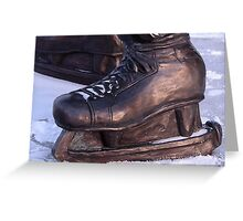 Jean Beliveau's Skates Greeting Card