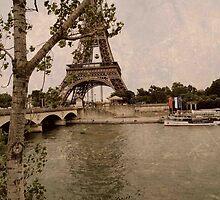 Eiffel tower  by Drexler3
