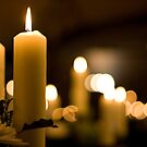 Candle bokeh by benivory