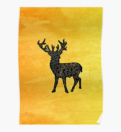 Geo-Stag Poster