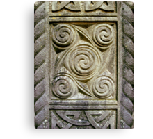 Relief Carvings Canvas Print