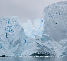 Sculpted iceberg by David Burren