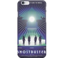 """Ghostbusters"" Poster iPhone Case/Skin"