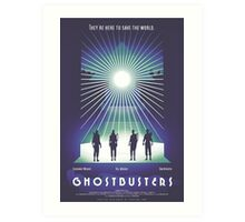 """""""Ghostbusters"""" Poster Art Print"""