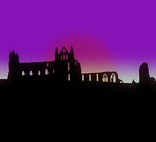 Whitby Abbey by jshroom