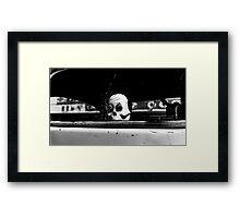 Spooky Ride Framed Print