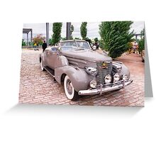 1941 Roadster Greeting Card