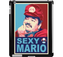 SexyMario - Hope / Obey Homage iPad Case/Skin