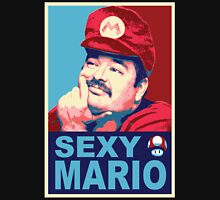 SexyMario - Hope / Obey Homage Unisex T-Shirt