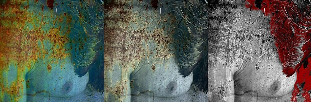 DEAD TOO SOON TRIPTYCH by Thomas Barker-Detwiler