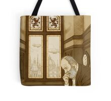 Old Cliff Face Tote Bag