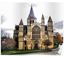 Rochester Cathedral HDR Poster