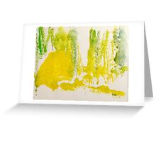 Lemon and Lime Squeeze Greeting Card