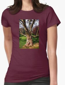 Twisting To Nature's Tune Womens Fitted T-Shirt