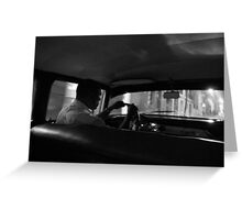 Cuban Driver  Greeting Card