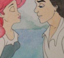 The Little Mermaid Watercolor Sticker