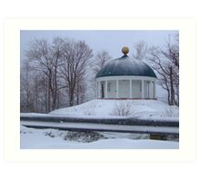 Prince's Lodge Rotunda Art Print
