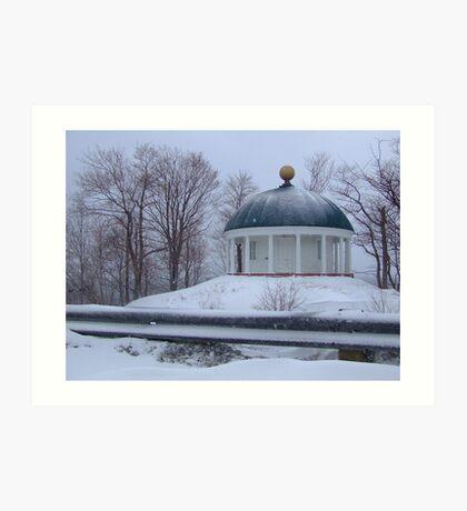 Prince's Lodge Rotunda Art Print