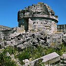 Cape St.George Light House Ruins by Les Boucher