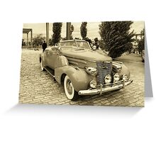Cadillac Roadster Greeting Card
