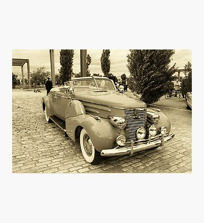 Cadillac Roadster Photographic Print
