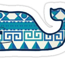 Aztec Vineyard Vines Whale Sticker