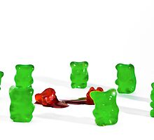 Don't Mess With The Green Gummies by Ryan Ritchie