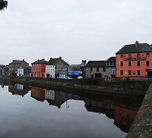Kilkenny Matt the Miller's Pub on river by Nancy Huenergardt
