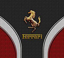 Ferrari Lover [NEW ~ Gold] by vdezine