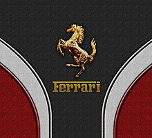 Ferrari Lover [NEW ~ Gold] by vdezine