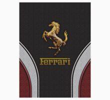 Ferrari Lover [NEW ~ Gold] Kids Clothes