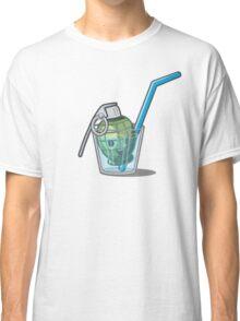 Green Grenade in Lemonade Classic T-Shirt