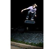 Thomas Riggs - Kickflip Photographic Print