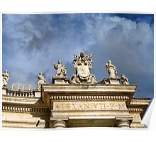 Magnificent St Peters Square Poster