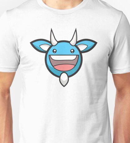 Blueberry Devil Head : Glitchy Bear Unisex T-Shirt